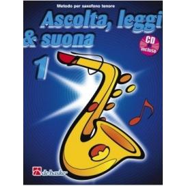 KASTELEIN/OLDENKAMP ASCOLTA LEGGI SUONA SAXOFONO TENORE V. 1 + CD DHK450
