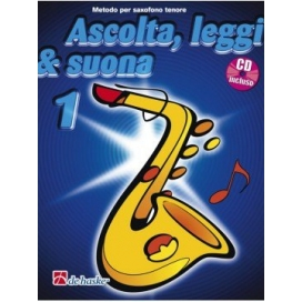 KASTELEIN/OLDENKAMP ASCOLTA LEGGI SUONA - SAX TENORE VOLUME 1 + CD