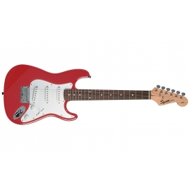 SQUIER AFFINITY STRATOCASTER MINI TORINO RED