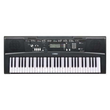 yamaha ez 220 black digitale keyboard. Black Bedroom Furniture Sets. Home Design Ideas
