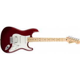FENDER STRATOCASTER MEX STANDARD HSS CANDY APPLE RED MAPLE NECK TINTED