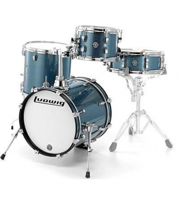 LUDWIG LC179X023 BREAKBEATS BY QUESTLOVE AZURE BLUE SPARKLE