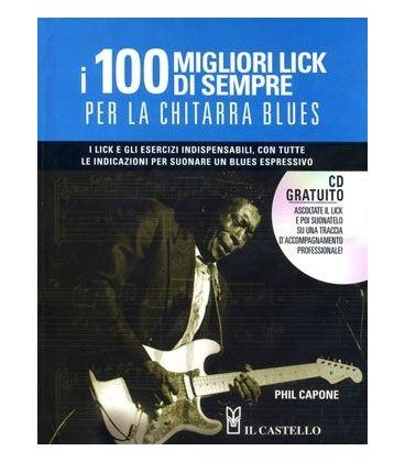 CAPONE 100 MIGLIORI LICK DI SEMPRE CHITARRA BLUES + CD