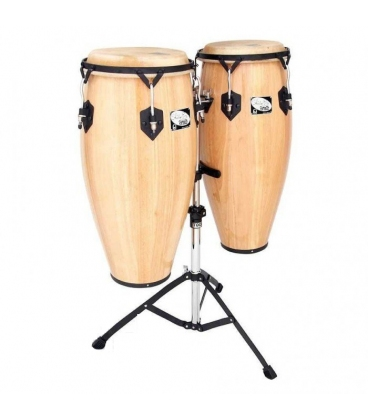 TOCA 2300N SET CONGAS 10&11 NATURAL CON SUPPORTO