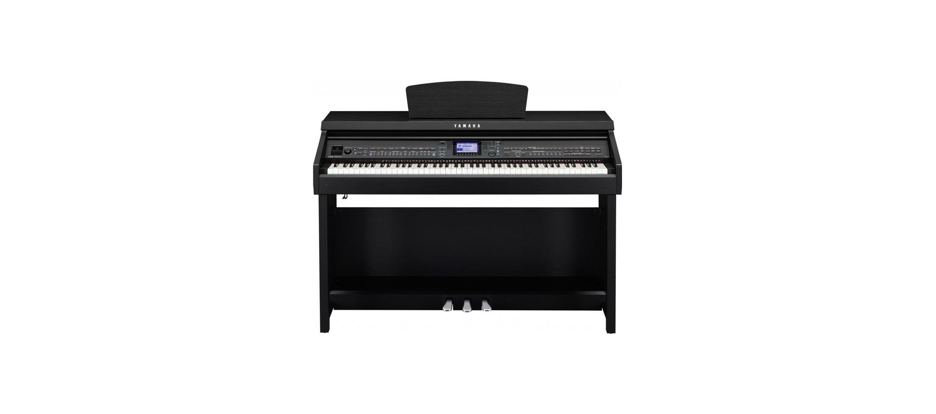 Yamaha cvp601b clavinova digital ensemble piano black con for Yamaha clavinova cvp 601