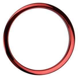 "BASS DRUM O'S HCR4 BASS PORT ""O"" 4 POLLICI RED"