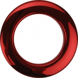 "BASS DRUM O'S HCR2 BASS PORT ""O"" 2 POLLICI RED"