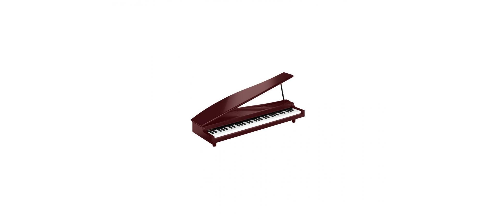 Korg micropiano antique cherry red signature for Micro piano casa compatto