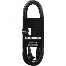 TELEFUNKEN SGMC5R 5 MT. XLR RIGHT ANGLE CABLE