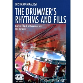 MICALIZZI THE DRUMMER'S RHYTHMS AND FILLS + 2CD