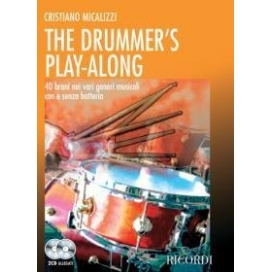 MICALIZZI THE DRUMMER'S PLAY-ALONG