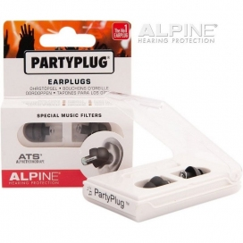 ALPINE PARTYPLUG BLACK EARPLUG