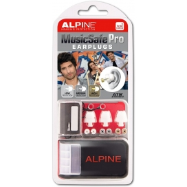 ALPINE MUSIC SAFE PRO MK3 WHITE EDITION EARPLUG PROTECTION SYSTEM