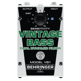 BEHRINGER VB1 VINTAGE BASS DUAL DYNAMIC FILTER