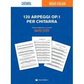GIULIANI 120 ARPEGGI OPERA 1 REVISIONE STORTI