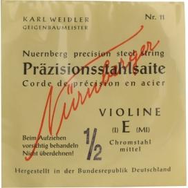 NUERNBERG PRAZISION VOLLKERN 1/2 MI ACCIAIO/CROMO