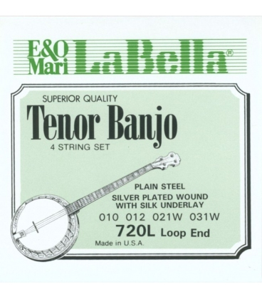 LA BELLA 720L SET BANJO TENORE CORDE LIGHT SA347