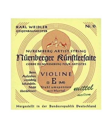 NUERNBERG KUNSTLER SEILKERN 4/4 MI ACCIAIO/CROMO