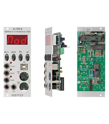 DOEPFER A-190-4 USB/MIDI TO CV/GATE/SYNC INTERFACE