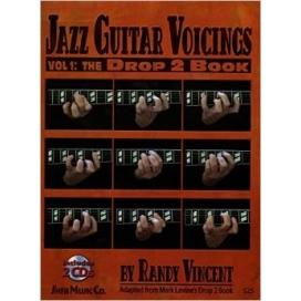 VINCENT JAZZ GUITAR VOICINGS V.1 + 2CD ITA MB373
