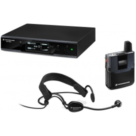 SENNHEISER EWD1ME3 HEADSET DIGITAL 2.4 GHZ WIRELESS SYSTEM
