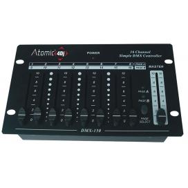 ATOMIC4DJ CONTROL 16 MIXER LUCI DMX 16 CANALI 63404