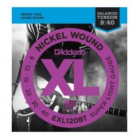 D'ADDARIO EXL120BT BALANCED XL SUPER LITE 9/40