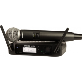 SHURE GLXD24E SM58 SISTEMA RADIO DIGITALE A MANO