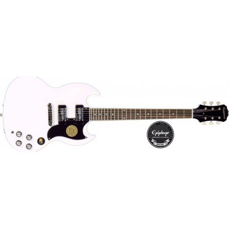 EPIPHONE LIMITED ED. 50TH ANNIVERSARY SG SPECIAL P90 A.WHITE