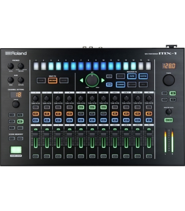 ROLAND MX-1 AUDIO MIXER TO SYNC AIRA PRODUCTION