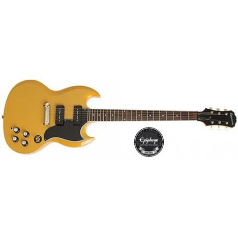 EPIPHONE LIMITED ED. 50TH ANNIVERSARY SG SPECIAL P90 TV YELL