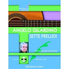 GILARDINO SETTE PRELUDI PER CHITARRA + CD EC011811