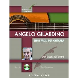GILARDINO STUDI FACILI PER CHITARRA + CD