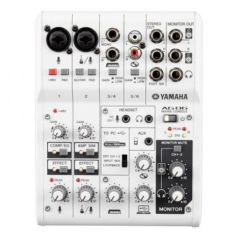 YAMAHA AG06 INTERFACCIA AUDIO USB 2.0