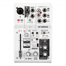 YAMAHA AG03 MIXER 3 CANALI CON INTERFACCIA AUDIO USB2.0