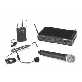 SAMSON CONCERT 288 UHF DUAL SYSTEM - ALL IN ONE