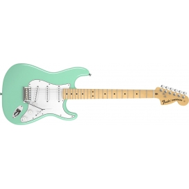 FENDER STRATOCASTER AMERICAN SPECIAL SURF GREEN MAPLE NECK