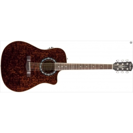 FENDER TBUCKET 300 CE RW TRASPARENT DARK BROWN