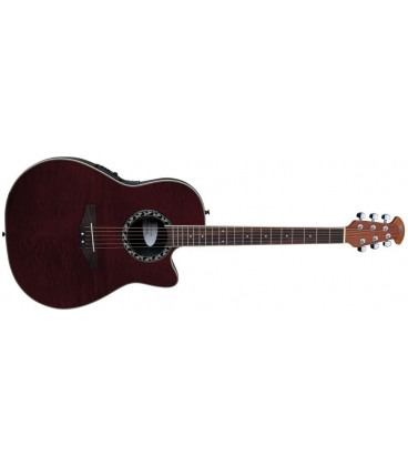 APPLAUSE AE128RFMH TRANSPARENT RED FIGURED MAHOGANY