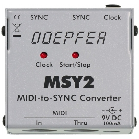 DOEPFER MSY2 MIDI TO SYNC/CLOCK INTERFACE