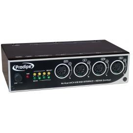 PRODIPE PRO 4I4O INTERFACCIA MIDI USB