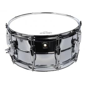 LUDWIG LM402 CHROME/ALUMINIUM 6,5X14 - PHONIC SERIES