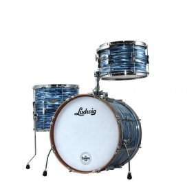 LUDWIG LR30CDX-BO CLUB DATE DOWNBEAT THE CAVERN BLUE OYSTER PEARL