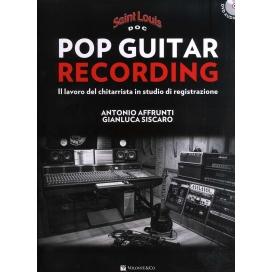 AFFRUNTI/SISCARO POP GUITAR RECORDING + DVD AUDIO MB594