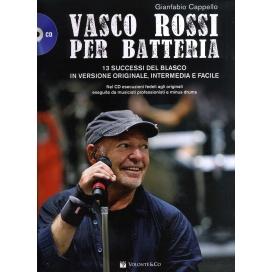 CAPPELLO VASCO ROSSI PER BATTERIA + CD