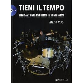 RISO TIENI IL TEMPO + CD ENCICLOPEDIA RITMI IN SEDICESIMI