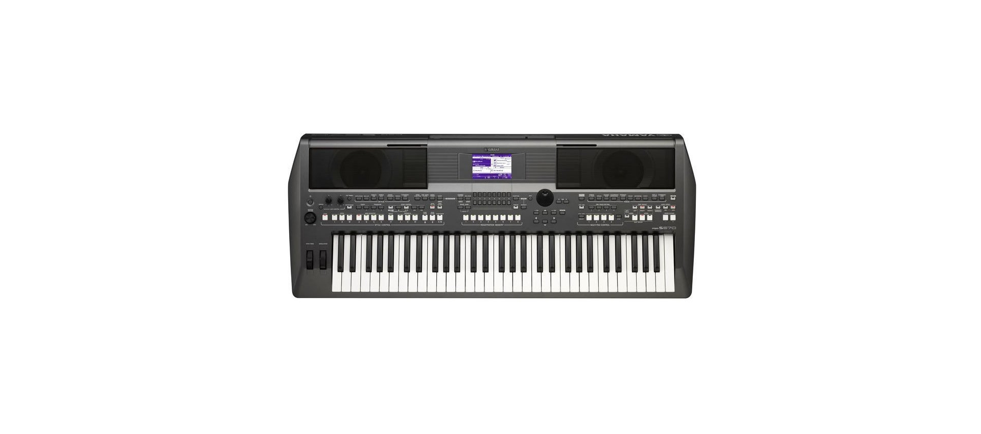 Yamaha psr s670 digital keyboard luckymusic for Yamaha professional keyboard price