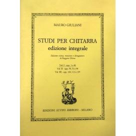 GIULIANI STUDI CHITARRA INTEGRALE VOL 3 OP.100, 111, 139