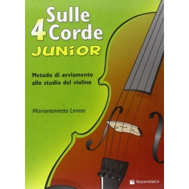 LEROSE SULLE 4 CORDE JUNIOR A COLORI - METODO VIOLINO
