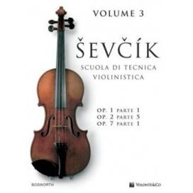 SEVCIK SCUOLA TECNICA VIOLINISTICA VOLUME 3